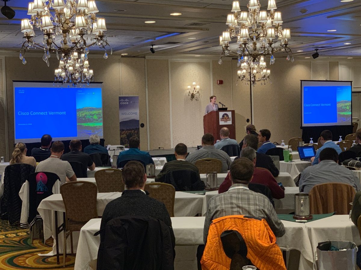2nd Annual Cisco Connect VT – No Blinky Blinky